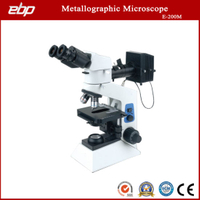 E-200m Upright Trinocular Metallographic Microscope with Lwd Lens