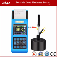 Salable Digital Portable Leeb Hardness Tester Support D / Dl / G / DC / C Prob