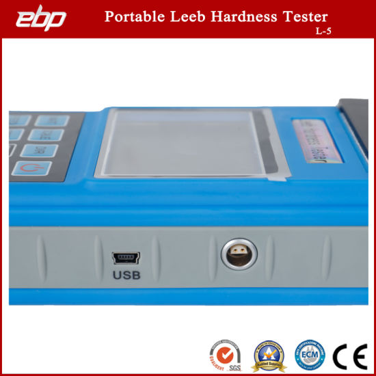 Color Screen Portable Digital Rebound Leeb Hardness Testing Machine