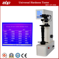Large LCD Display Digital Universal Hardness Testing Machine with Hardness Convert Scale