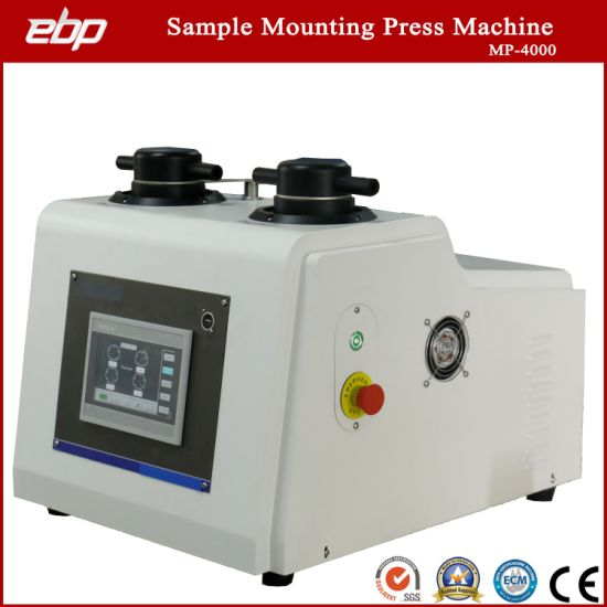 Metallographic Sample Preparation Hot Mounting Press Machine with Water Cooling System