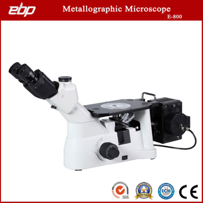 Inverted Trinocular Metallographic Microscope E-800 for Metallurgical Labs