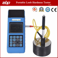 High Quality Portable Digital Rebound Leeb Sclerometer Support D / Dl / G / DC / C Prob