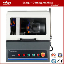 Manual Cutting Machine with Abrasive Saw Cutter for Metallographic Sample Preparation