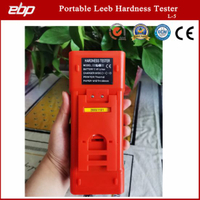High Quality Color Screen Digital Portable Leeb Hardness Tester with Printer L-5