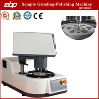 Metallographic Sample Preparation Grinder Polisher with Automatic Pneumatic Head