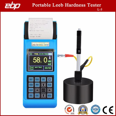 Quality Portable Color Screen Digital Rebound Leeb Hardness Testing Instrument