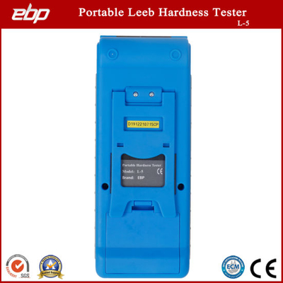 Digital Color Screen Portable Leeb Hardness Tester Support D / Dl / G / DC / C Prob