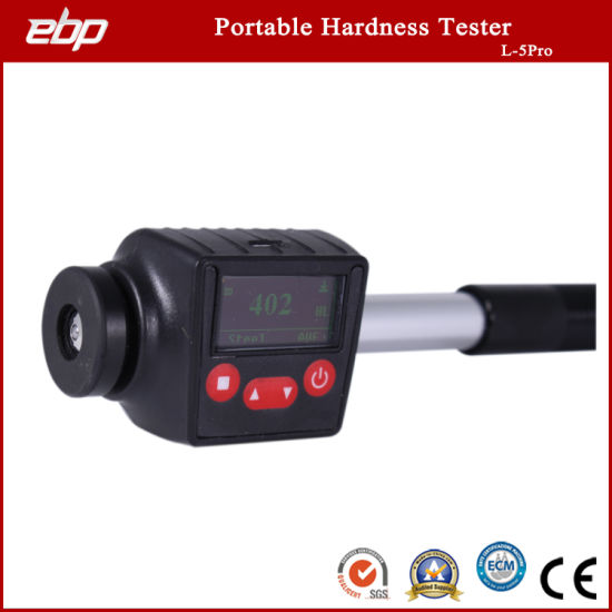 Compact Digital Portable Leeb Hardness Tester for Large Metal Workpiece