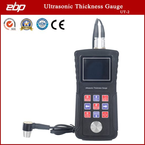 Ebp Portable Ultrasonic Thickness Gauge Ut-2 Measuring Instruments