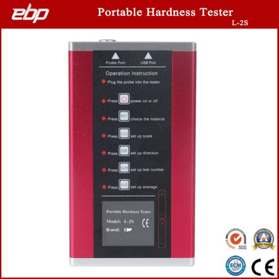 Portable Digital Rebound Leeb Hardness Testing Machine with Blocks