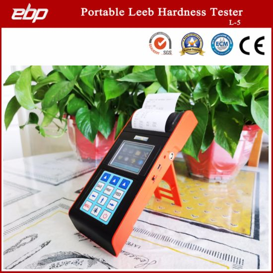 High Quality Color Screen Digital Portable Leeb Hardness Tester