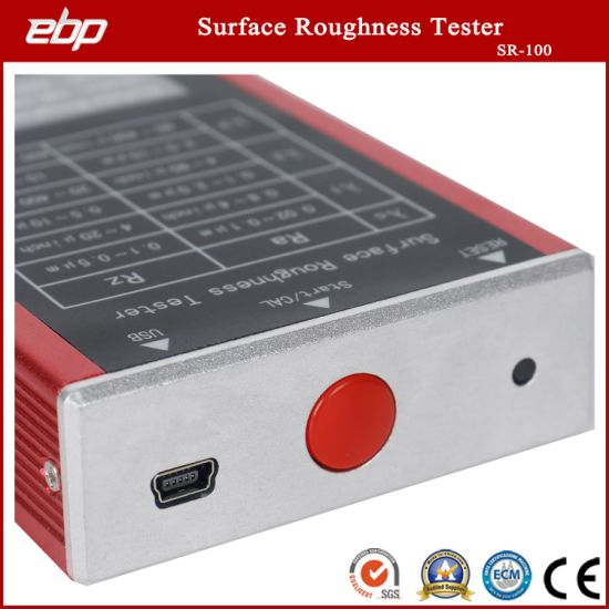 Portable Surface Roughness Tester with Best Price Sr-100