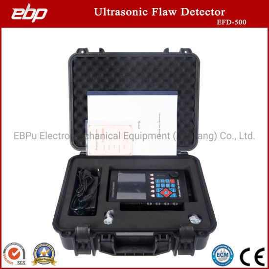 High Precision Digital Ultrasonic Flaw Detector EFD-500