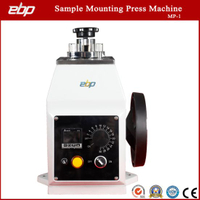 Manual Operate Metallographic Sample Hot Mounting Press Machine