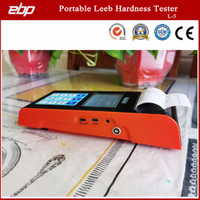 Color Screen Digital Portable Leeb Hardness Testing Equipment