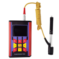 Color Screen Portable Leeb Rebound Hardness Tester Support D DC DL D+15 C G E Probe