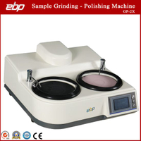 Two Discs Metallographic Sample Surface Grinder Polisher with Pic Control