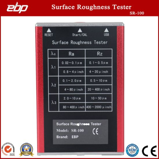 Handheld Digital Surface Roughness Measuring Instrument Sr-100 Tester