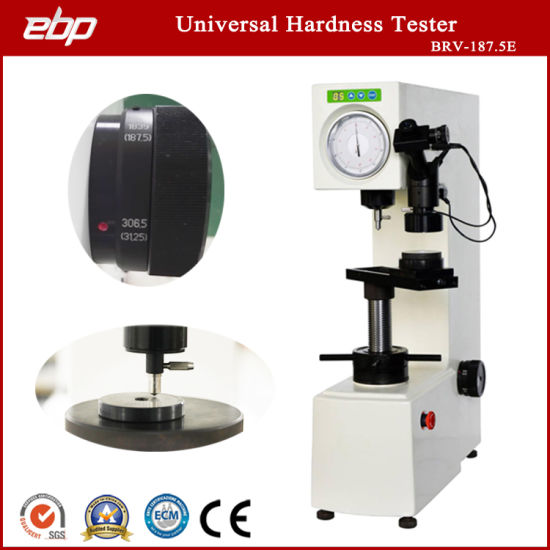 Analog Universal Hardness Testing Instruments with 37.5X 75X Magnification